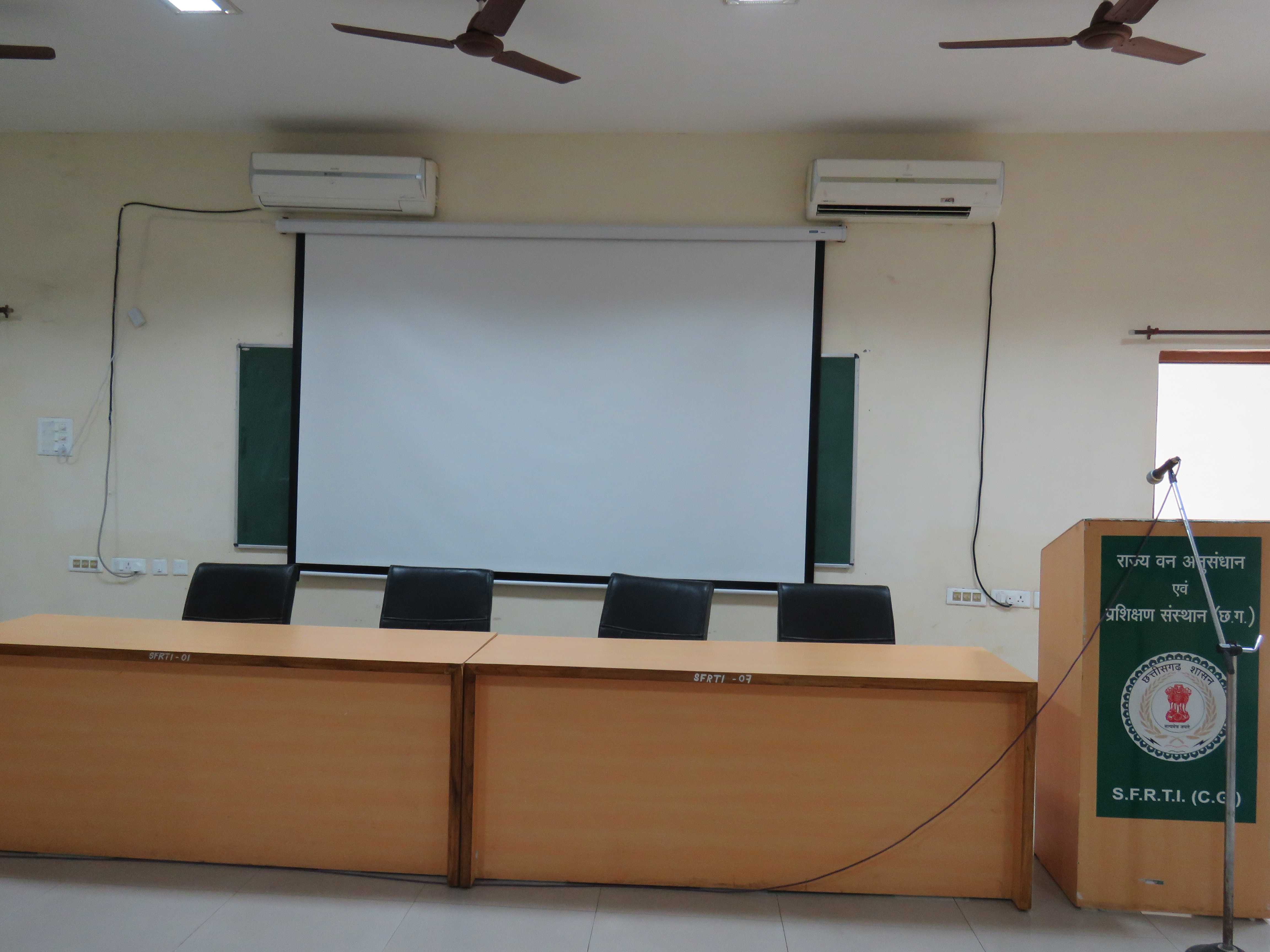 Meeting Hall Guest Seating